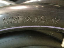 motorcycle natural and butyle inner tube 250-17 275-17