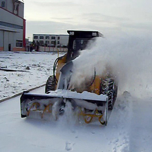 2017 High Efficiency Chinese New Tractor Front Mounted Snow Blower