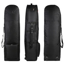 Folding Travel Golf Bag Cover with Wheel