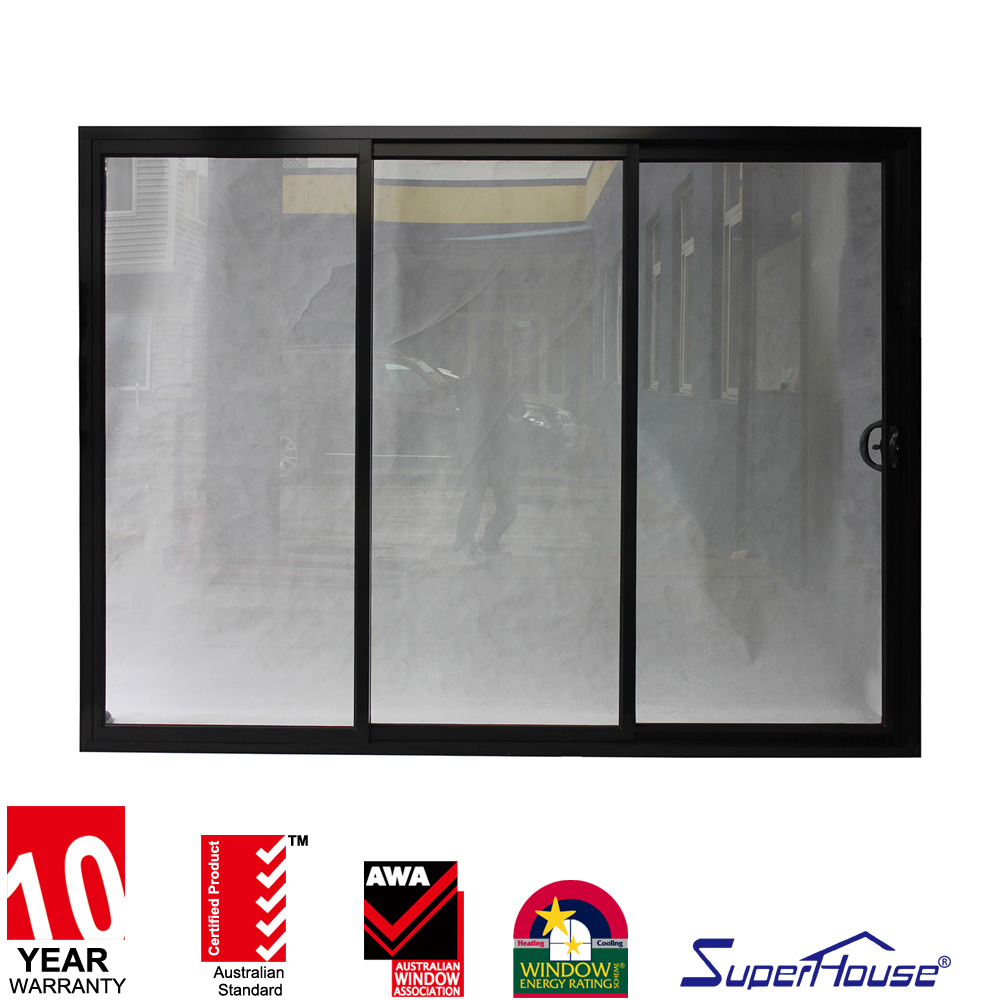 Superhouse Australia standard as2047 soundproof interior balcony sliding glass door for living room