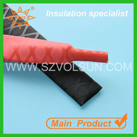Non-slip Two Tone Black& Red Heat Shrink Sleeve