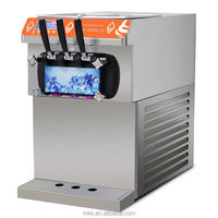 Commercial soft ice cream machine /ice cream making machine for sale in China