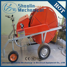 high efficient energy-saving water hose reel rain gun irrigation system