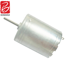 Micro electric 6v 12v carbon brush dc motor 370 small fan motor