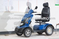 four wheels folding disabled electric scooter with CE