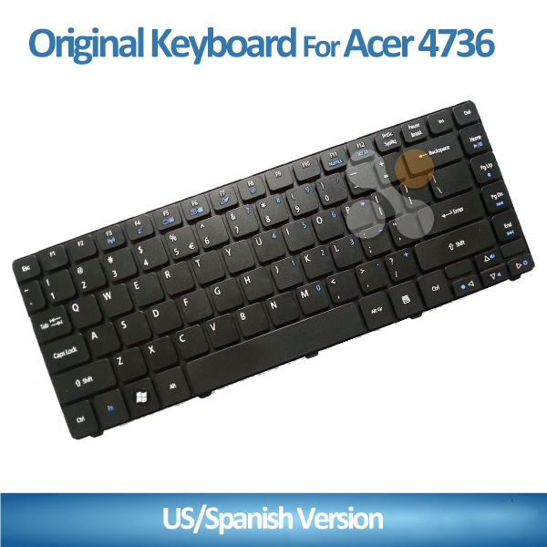 Hot Sell 100% New Original Keyboard for ACER 4741 4741g 4736 4738zg 4750 D640 4540 4746 laptop Keyboard US Layout