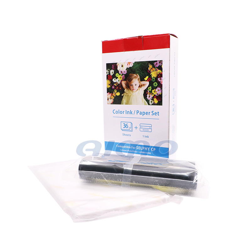 wholesale for canon kp 36ip with 1 ribbon and 36 sheets paper