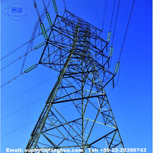 2018 High Quality Angle Steel Electric Power Transmission Line Lattice Tower