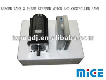 Berger Lahr 3 Phase Stepper Motor And Controller View
