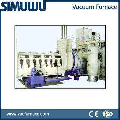 China made SIMUWU brand SIC green powder 1800c vacuum sintering furnace