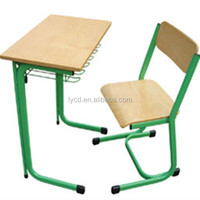 Cheap Used School Furniture Steel School Desk And Chair