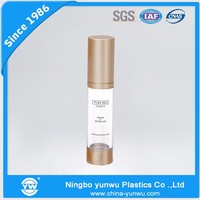 fashion design airless bottle cosmetic packaging