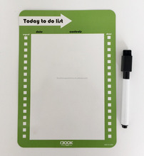 eco friendly PET educational magnetic whiteboard for kids Custom promotional magnetic whiteboard