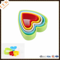 Sample-Heart Shape Tofu Cutter Plastic Cookie Cutter