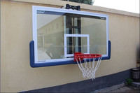 10MM Tempered glass basketball backboard for sale