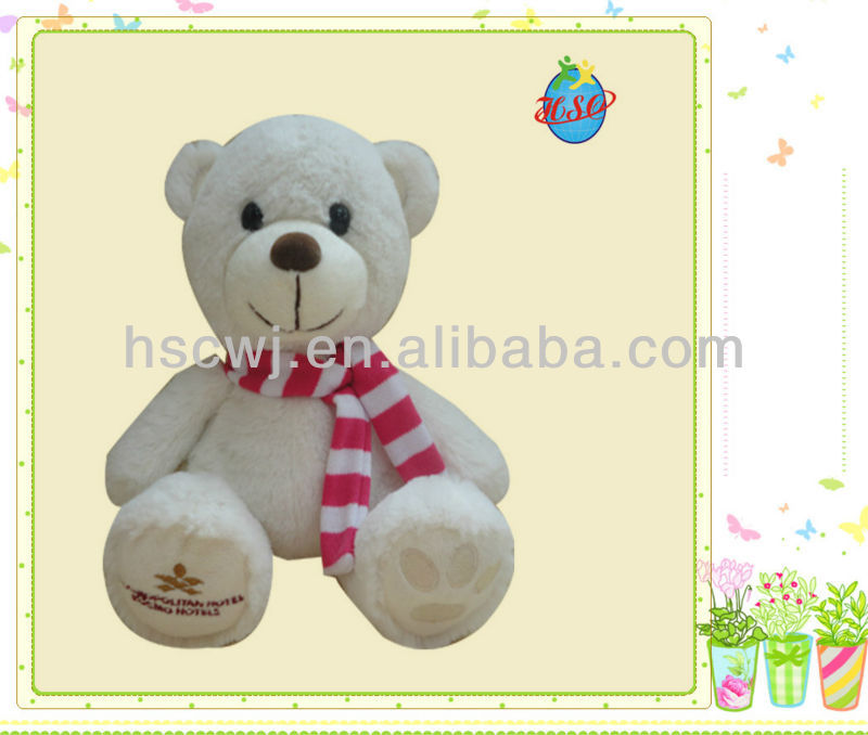 soft custom bear stuffed plush baby toys
