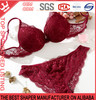 Hot Sale Women Lace Stylish Push Up Bra And Panties Set Sexy Underwear C04