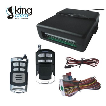 Keyless entry system with trunk release, LED indicator