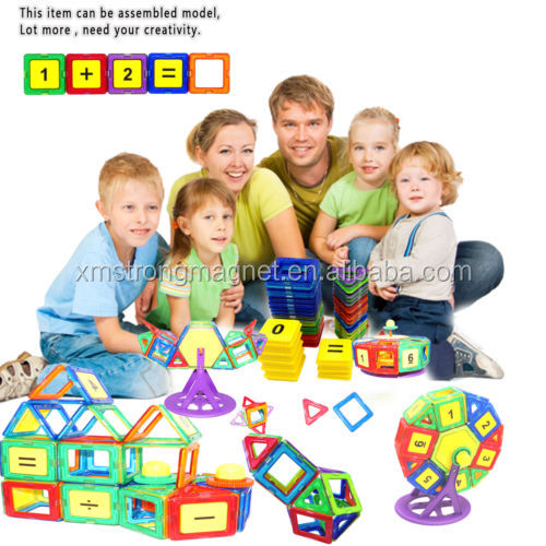 250pcs Kids Magnetic Toys Building Sets Building Blocks DIY Educational Game