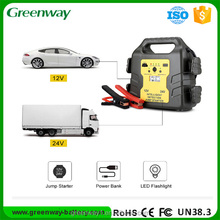 Emergency Auto Tool Kits30000mAh 1400Amp Peak 12V/24V Portable Car Jump Starter
