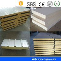 wholesale adhesive pu rigid foam to marble glue for composite material aluminum honeycomb stainless steel plate