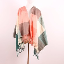 New design colors high quality winter women shawl