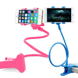 360 Long Arm Hanging Flexible Magnetic Folding Lazy Clip Pop Universal Mobile Cell Phone Holder