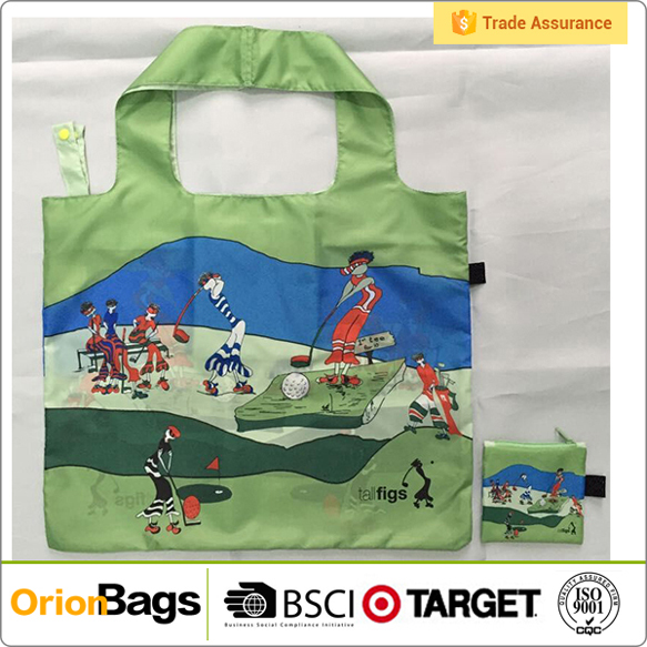 New Eco Shopping Bag Pouch Tote Folding Reusable Bags