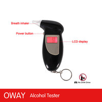 Quickly reaction sensitive alcool tester