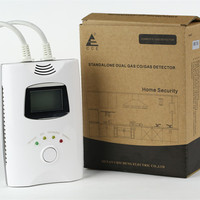 Home security gas leak alarm with GSM and SMS function