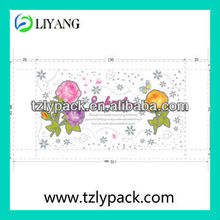 image flower printed adhesive transfer metallic film