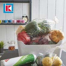 Hot sale foldable transparent polythene LDPE shopping food bag