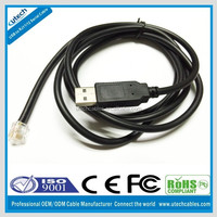 usb to rj12 6p6c serial converter cable
