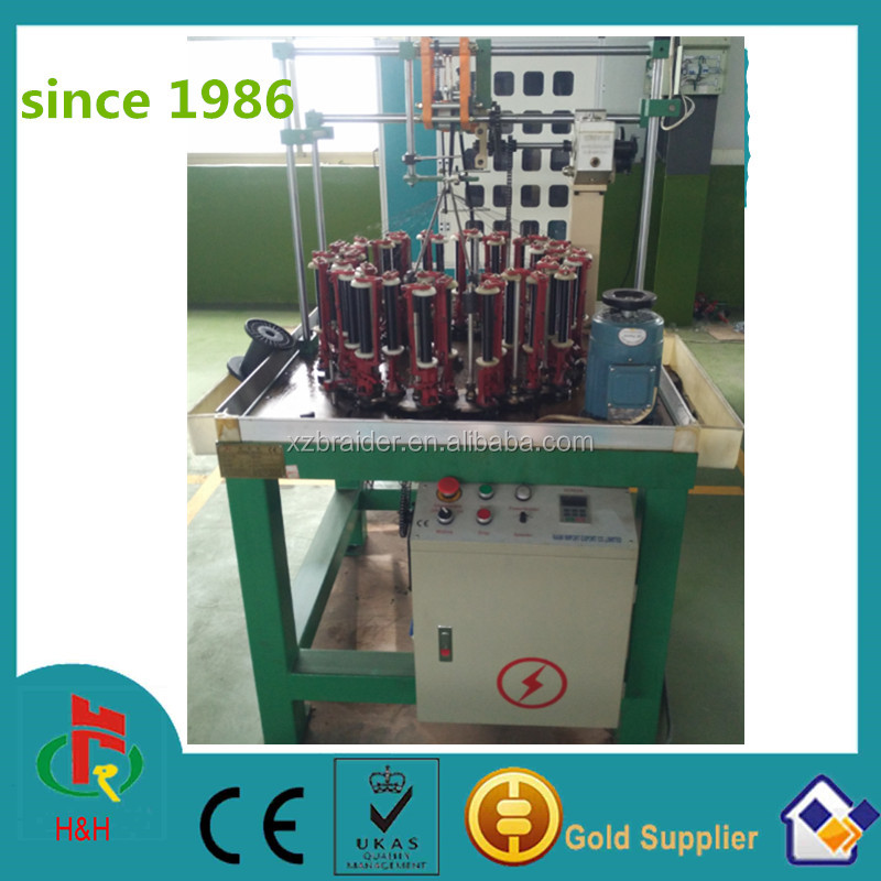 37 spindle flat belt braiding machine