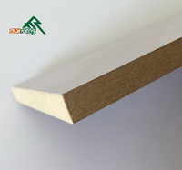 Waterproof MDF board/Water resistant MDF board/bendable plywood home depot, linyi