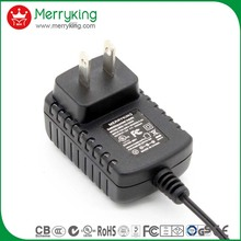 CoC CE/BS/GS/RHOS/TUV level 6 energy efficiency power supply 5v 6v 9v 12v 13v 400ma ac dc power adapter