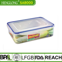 Jiangmen Heng long brand FDA/LFGB standard leakproof heat resistant food container with lid
