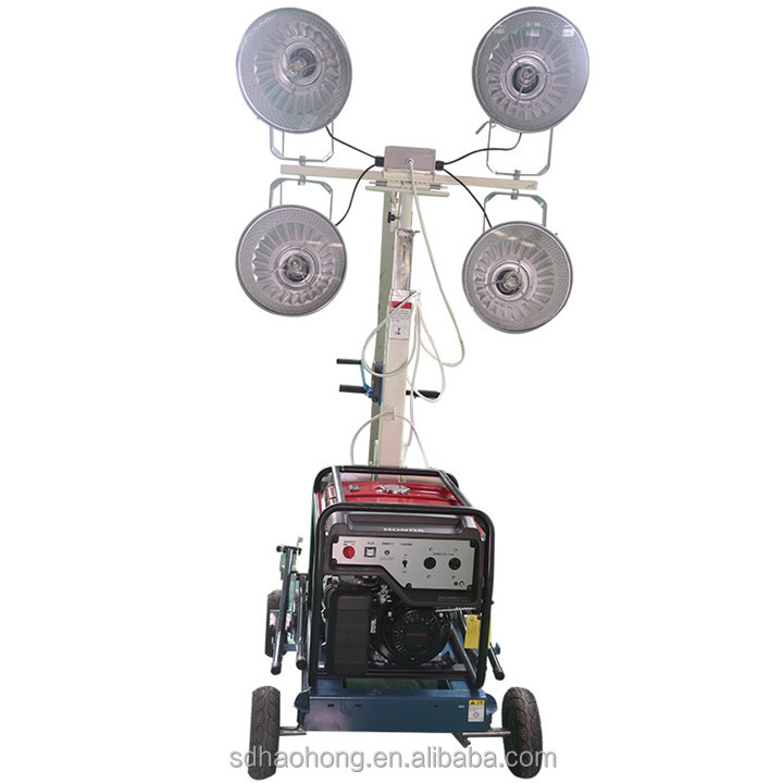 Easy to operate all-round lighting to enjoy comfortable lighting lighting tower