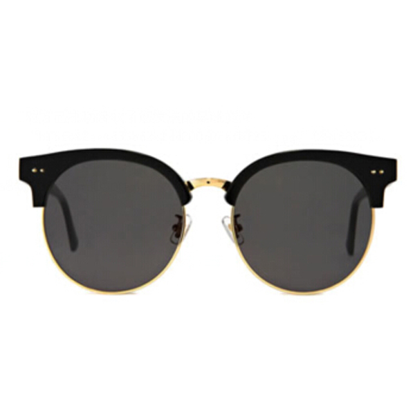 OEM new arrival sunglases, round half frame light color lens sunglasses