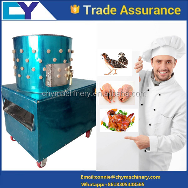 poultry quail chicken plucker depilator feather remove machine for slaughteringequipment