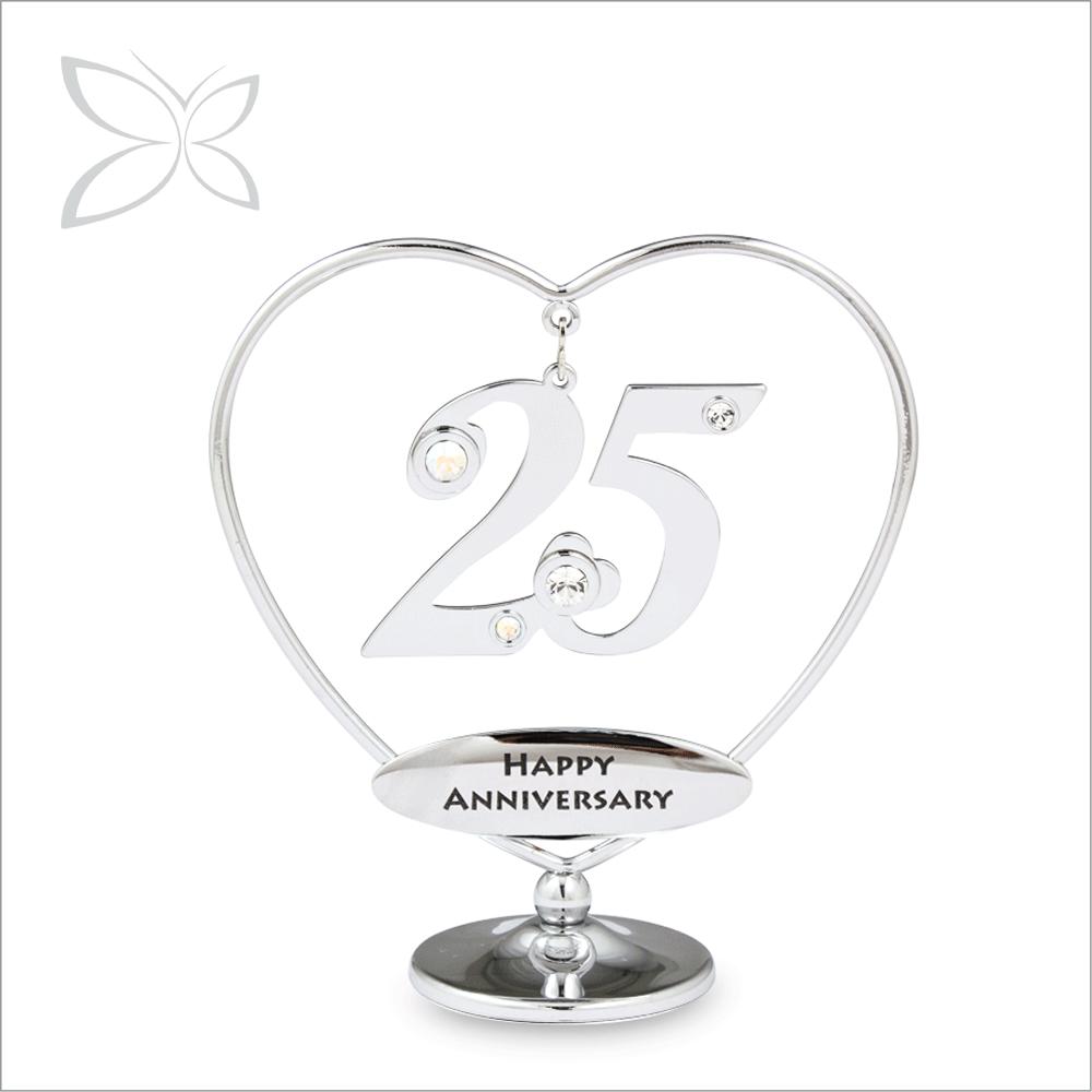 Подарки на 25 годовщину свадьбы