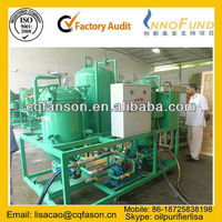 Hydraulic oil regeneration purifier, Used Oil Recycling Machine / Transformer Oil Purification / Turbine Oil Filtration Plant