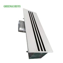 HVAC Linear slot air diffuser Linear adjustable slot Grille Diffuser Air Vent diffuser