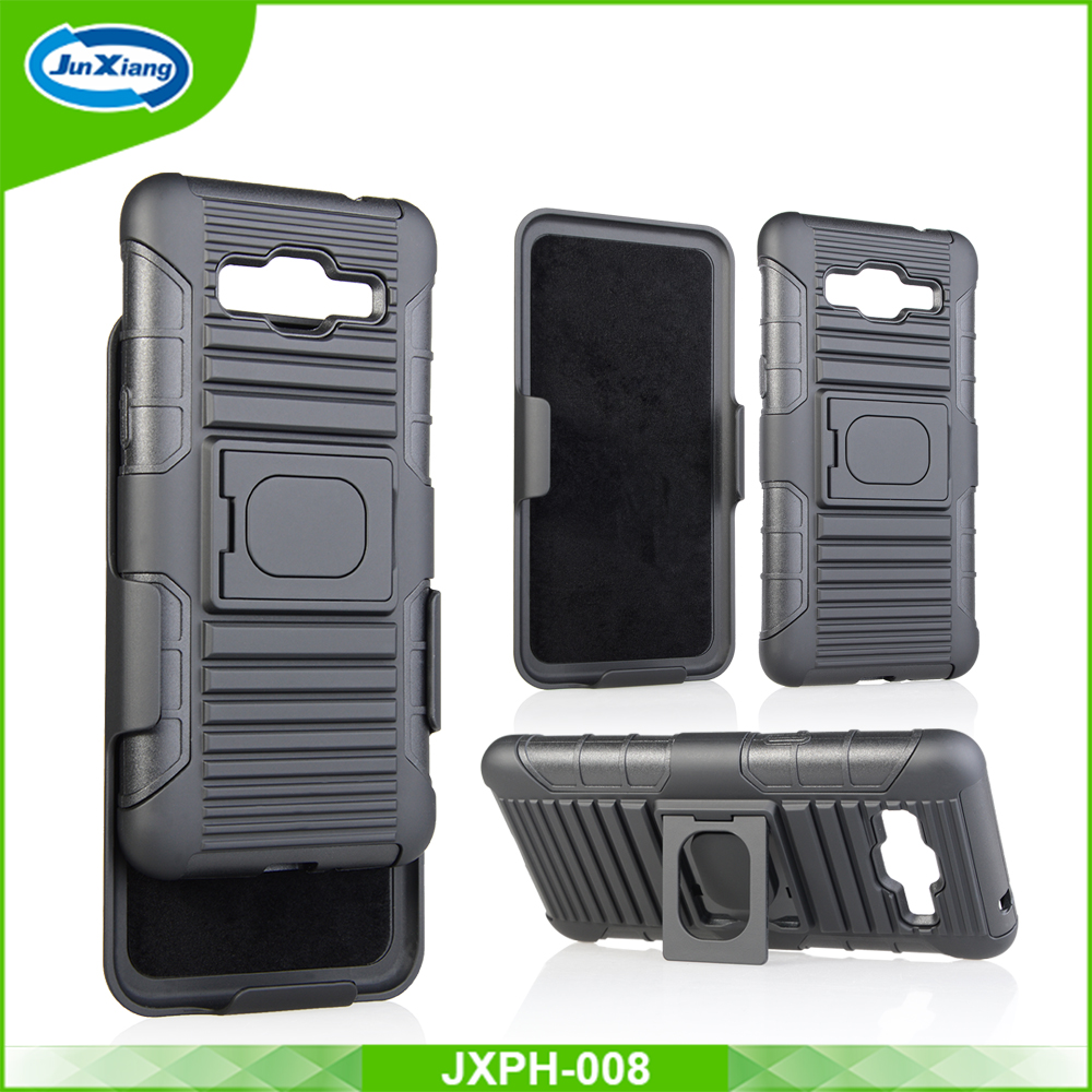 3 in 1 rugged belt clip stand case for samsung galaxy grand prime g530