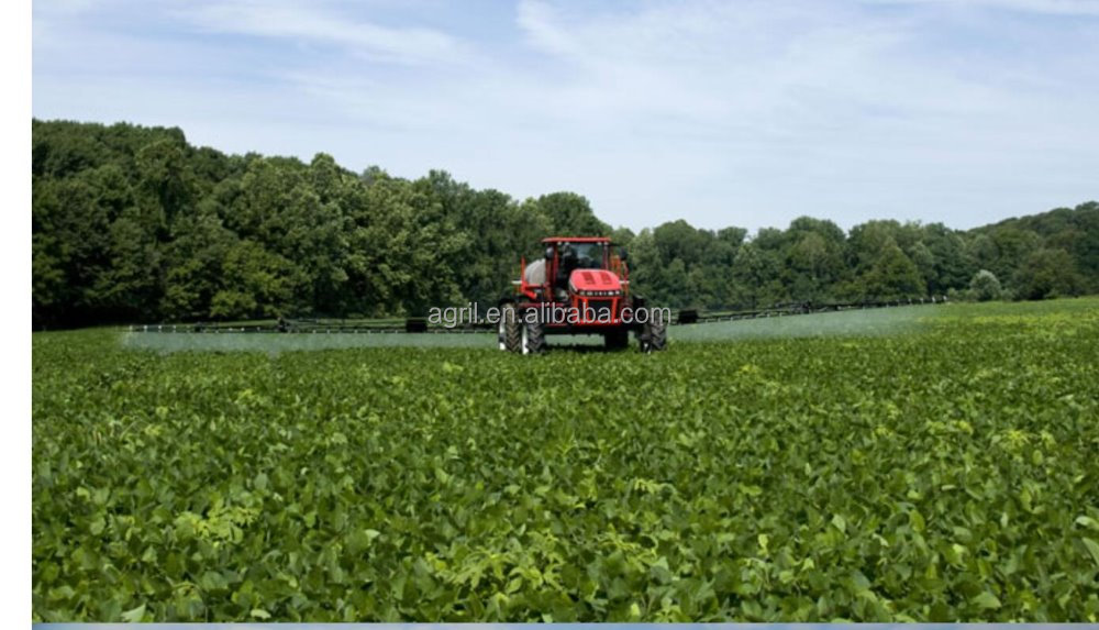 top quality high clearance GPS auto driving self propelled boom sprayer with tank capacity 3000L 3500L 4500L