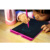 8.5inch LCD Graphic Writing Tablet,Durable Drawing and Writing Board Gift for Kids Office (pink)