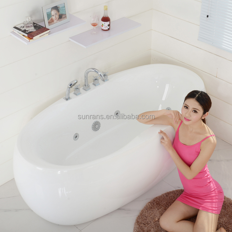 Pray For Paris Factory Prices Small Round Natural Looking Like Stone Bath Tub