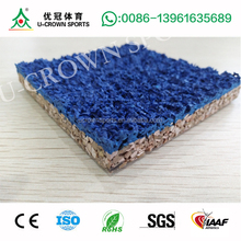 Stadium Synthetic PU glue and EPDM Rubber Running Track