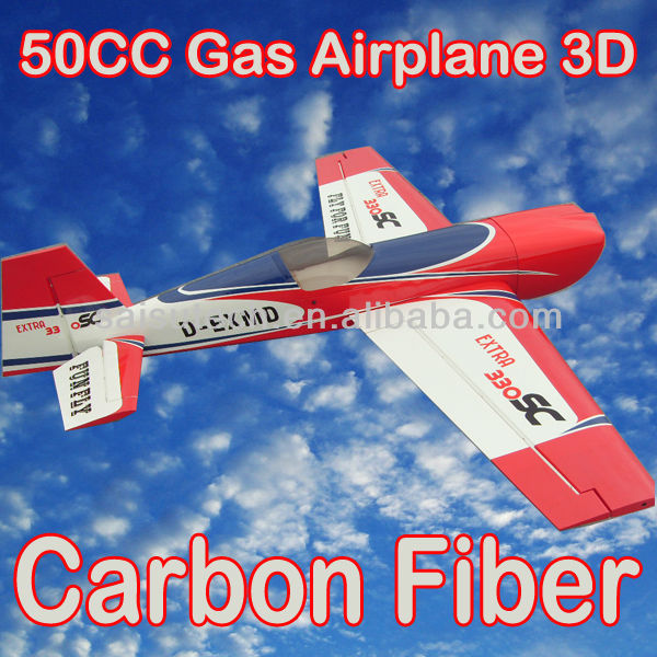 50CC arf model airplane carbon fiber rc airplane kit EXTRA330 50CC china model OEM