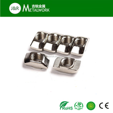 M5-M20 thread harmmer slotted t shape aluminum nut